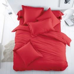 Двойно спално бельо - бордо