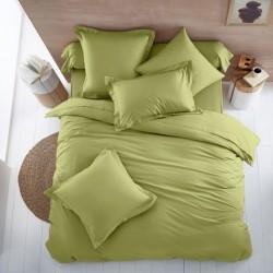 Двойно спално бельо - зелено