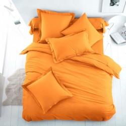 Двойно спално бельо - оранж