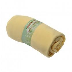 Чаршаф с ластик - жълт