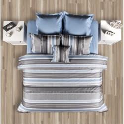 Двойно спално бельо - Лазур