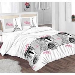 Единично спално бельо - Париж