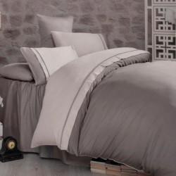 Двуцветно спално бельо от...