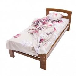 Дървено легло Масив - тъмен...