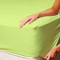 Чаршаф с ластик - зелено