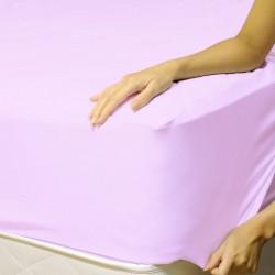 Чаршаф с ластик - бледо лила
