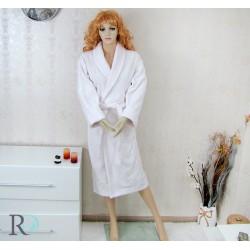 Халат за баня Емона - бяло...