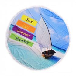 Плажна кърпа с ресни DF...