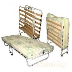 Сгъваемо легло с ламели