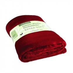 Одеяло екстра софт - червено