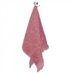Хавлиени кърпи с ресни - Розов