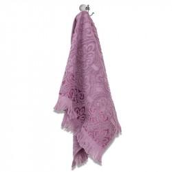 Хавлиени кърпи с ресни - Лилав