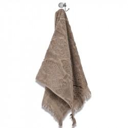 Хавлиени кърпи с ресни - Бежов
