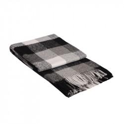Одеяло с вълна Палермо - сиво