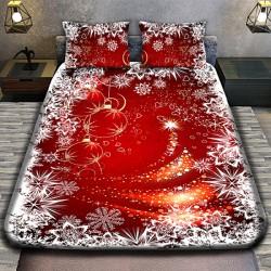 Коледно 3D спално бельо -...