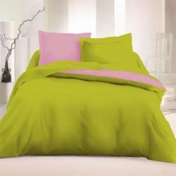 Спално бельо Ранфорс Зелен...