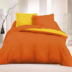 Спално бельо Ранфорс Оранж...