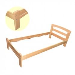Дървено легло Масив -...