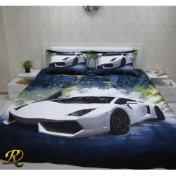 Спално бельо 3D - Ламборджини