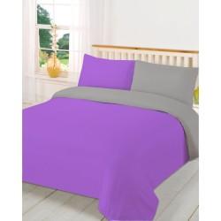 двуцветно спално бельо -...