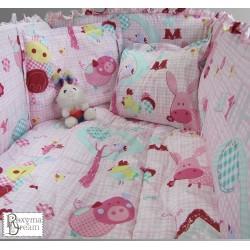 Бебешко спално бельо - Каре...