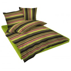 Двойно спално бельо - Лайм