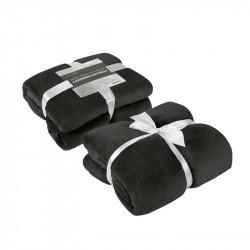Одеяло кашмир - черно
