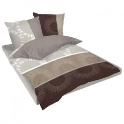 Двойно спално бельо - Мокачино