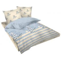 Двойно спално бельо - Моряк