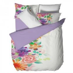Двойно спално бельо - Цветя