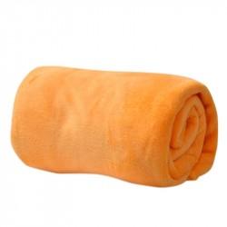Микрофибърно одеало - жълт