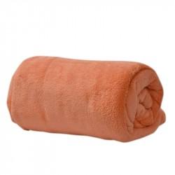 Микрофибърно одеало - праскова