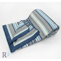 Одеяло памук - Дарси синьо