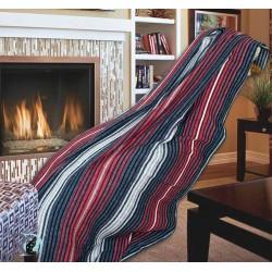 Одеяло памук - Скоч червено...