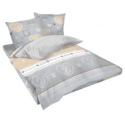 Двойно спално бельо - Романтик
