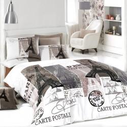 Двойно спално бельо - Париж...