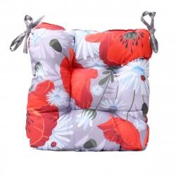 Възглавница за стол - мак