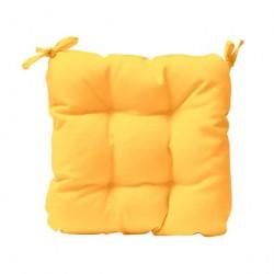 Възглавница за стол - жълт